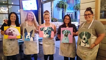 Pet Painting Event at City Barrel Brewing tickets