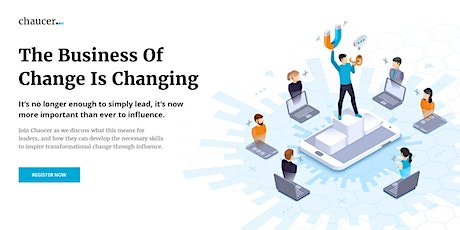 The Business Of Change Is Changing tickets
