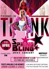 Spring bling concert Featuring Tink tickets