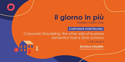 Holden Open Day | Corporate Storytelling: the other side of business