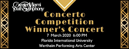Concerto Competition Winner's Concert