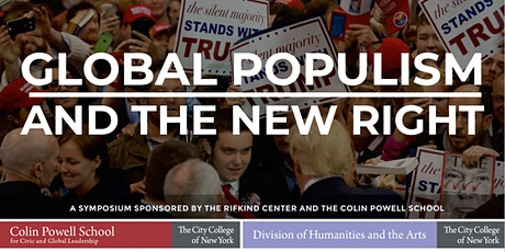 GLOBAL POPULISM AND THE NEW RIGHT tickets