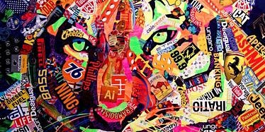 Collage Art Workshop with Susan Hutchison