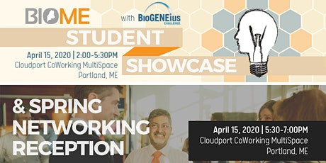 BioME Student Showcase & Spring Networking Reception tickets