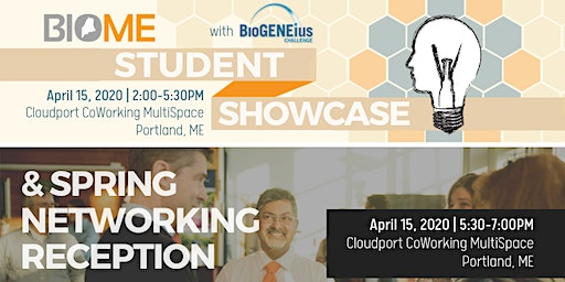 BioME Student Showcase & Spring Networking Reception