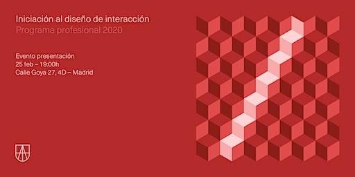 Evento presentación del Programa de Iniciación al Diseño de Interacción