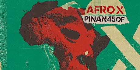 PINAN 450F Concert Presentació Àlbum AFRO-X entradas