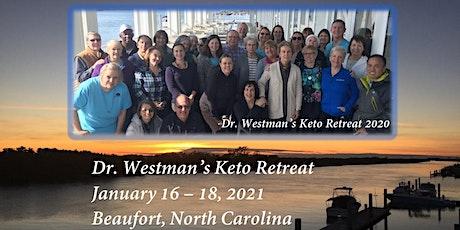 Dr. Westman's Keto Retreat 2021 tickets