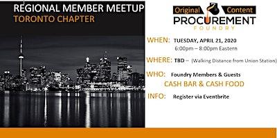 Greater Toronto Cananda Member Meetup April 21, 2020 6-8pm Eastern