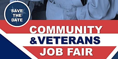 Community & Veterans Job Fair tickets