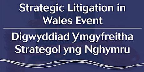 Strategic Litigation in Wales | Ymgyfreitha Strategol yng Nghymru tickets