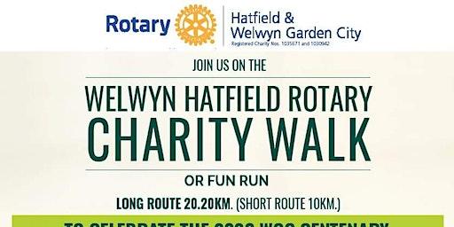 Welwyn Hatfield Rotary Charity Walk round Welwyn G