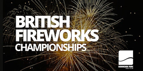 British Firework Championships Plymouth 2020 tickets