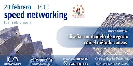 Diseñar un modelo de negocio con método CANVAS: Ponencia y Speed Networking entradas