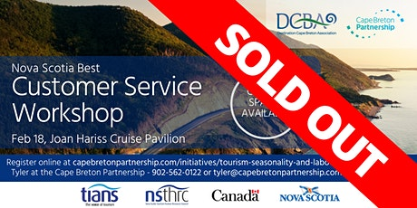 Nova Scotia Best Customer Service Workshop (SOLD OUT) tickets
