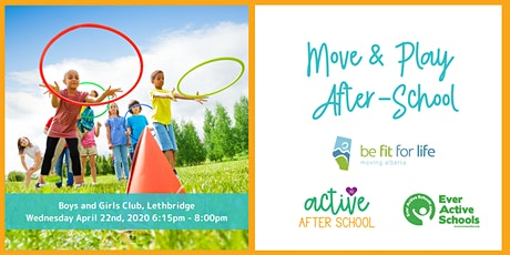 Move & Play After-School Workshop - Lethbridge tickets