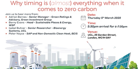 Why timing is (almost) everything when it comes to zero carbon tickets