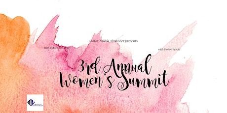 3rd Annual Women's Summit tickets