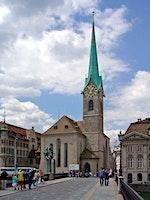Gottesdienst mit Taufe- Predigt: Pfrn Carla Maurer- Fraumünster,  Zürich