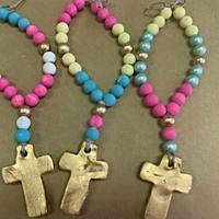 Blessing Bead Workshop for Kids:  Mardi Gras Week