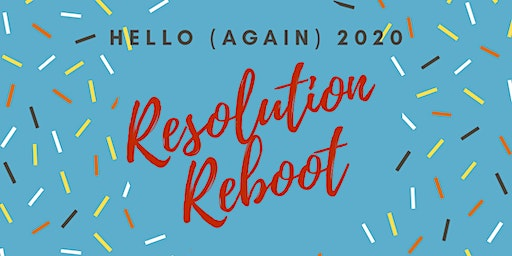 2020 Resolution Reboot Saturday Night Party