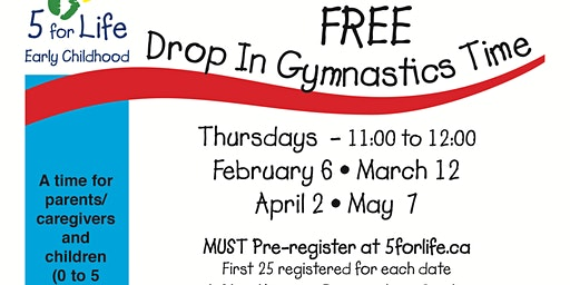 FREE Drop in Gymnastics