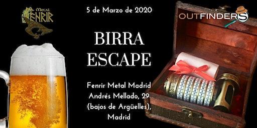 #BirraEscape 2020: Juego de Escape y cervezas