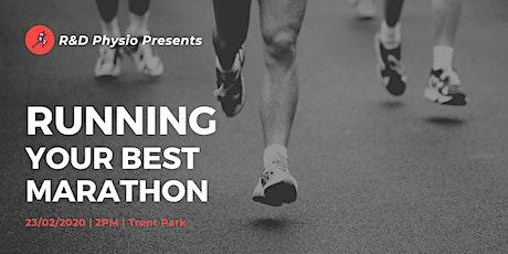 Running your Best Marathon tickets