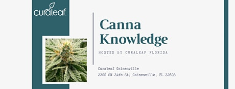 Canna Knowledge at Curaleaf tickets