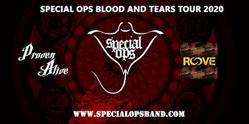 Special Ops Blood & Tears tour avec Roove & invités!