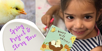 Mommy'n'Me Chicky Chick Plate & Story Time (POTTERY PAINTING CLASS )