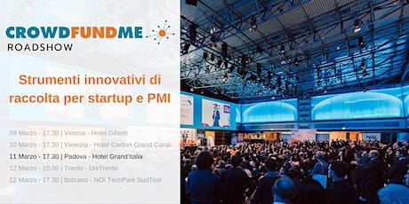 CFM Roadshow: Strumenti innovativi di raccolta per startup e PMI - Padova biglietti