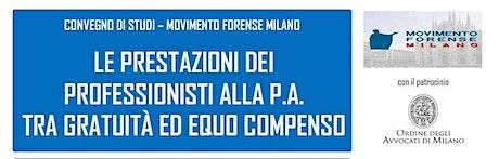 Convegno MF Milano - Le prestazioni alla p.a. tra  biglietti
