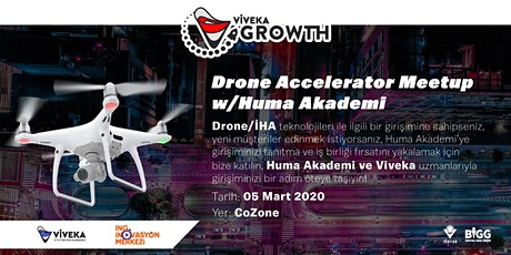 VivekaGrowth & Huma - Drone Accelerator GrowthMeetups tickets