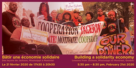 Building a solidarity economy: Lessons from Jackson, MS, to Montreal tickets