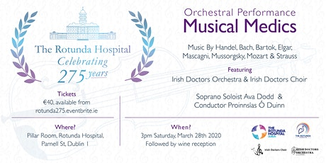 Musical Medics - Rotunda 275th Anniversary Concert tickets