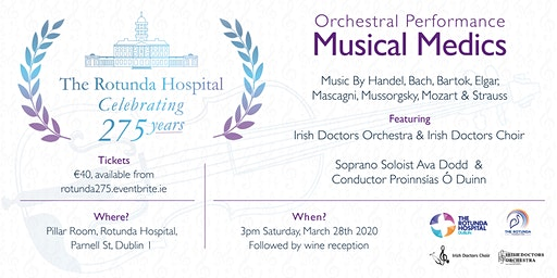 Musical Medics - Rotunda 275th Anniversary Concert