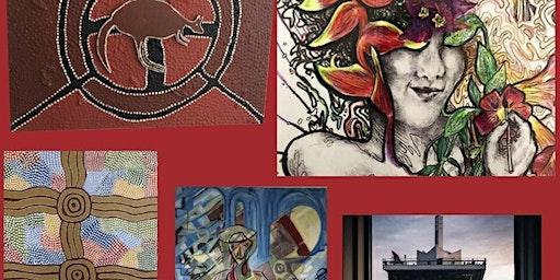 Australian Aboriginal Dot Painting & Modern ART Exhibition - 7.3 - 8.3
