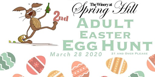 2020 Adult Easter Egg Hunt at The Winery at Spring Hill (March 28th Hunt)