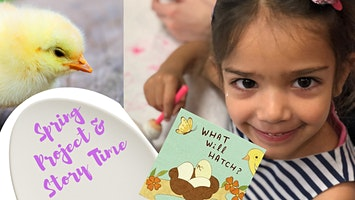 Mommy'n'Me Chicky Chick Plate & Story Time