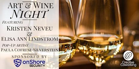 Art & Wine Night @ Creative Coworking tickets