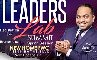 The Leaders Lab- Spring Session