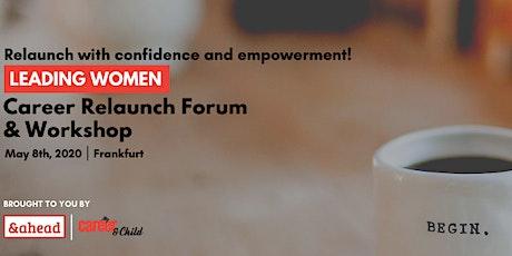 Leading Women - Career Relaunch Forum & Workshop billets