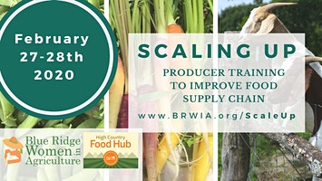 Scaling Up Producer Training & High Country Food Hub Annual Meeting