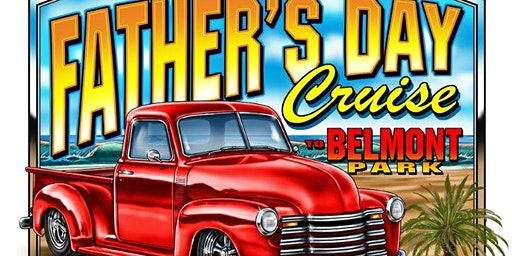 Father's Day Car Show At Belmont Park