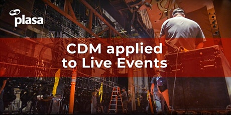 POSTPONED - CDM Applied to Live Events tickets