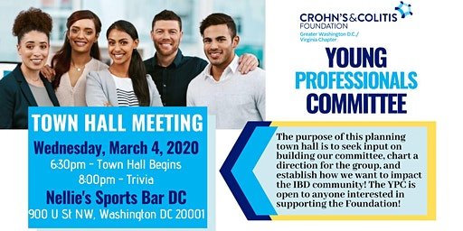 Young Professionals Committee: Town Hall, Trivia & Get Involved!