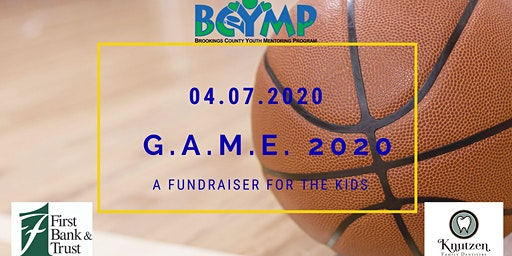 GAME 2020: A Fundraiser for BCYMP