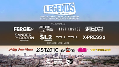 Legends in the City 2020 (Digbeth Arena, Birmingham) tickets