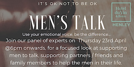 Men's Talk tickets